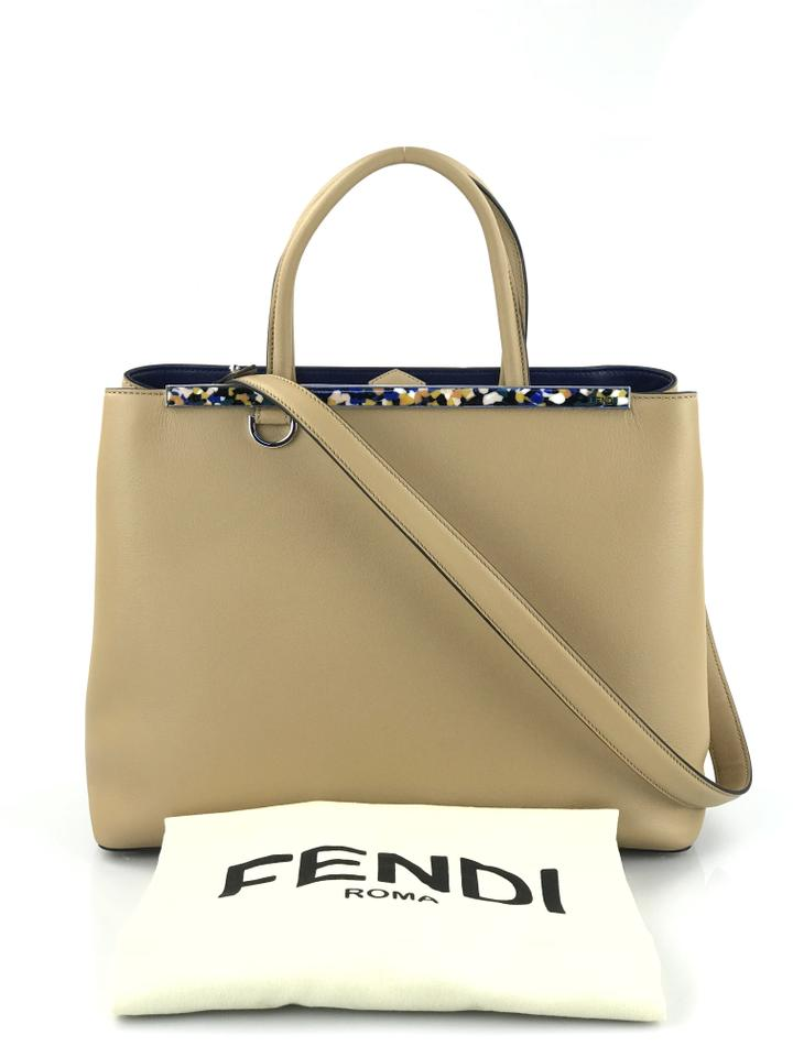 Well known Fendi 2jours Medium Camel Leather Tote - Tradesy XM98 399754d121749