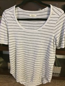 Madewell T Shirt Heather silver