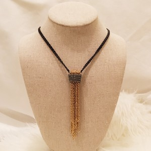 Stella & Dot Windsor Tassel Necklace