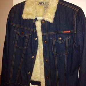 Roxy Vintage Lined Fitted Awesome Denim Jacket