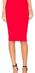 BCBGMAXAZRIA Skirt Red Berry