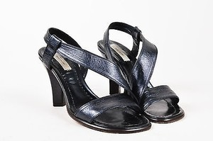 Marc Jacobs Leather Black Sandals