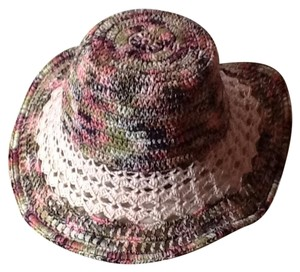 Missoni Knitted and crocheted floppy hat.