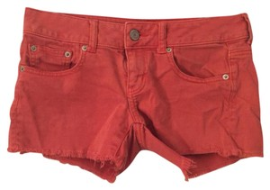 American Eagle Outfitters Cut Off Shorts Coral