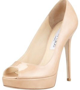 Jimmy Choo Cream/nude Platforms