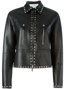 Valentino Leather Leather Jacket