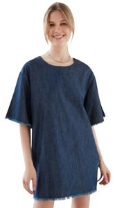 Cheap Monday short dress Blue on Tradesy