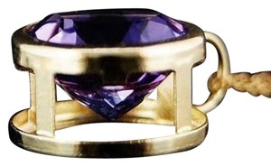 Other 14k Yellow Gold, Purple Amethyst, Pendant with 18