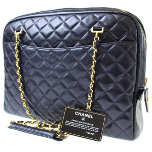 Chanel Tote in dark navy