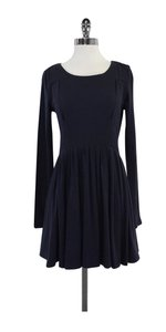 Proenza Schouler short dress Navy Long Sleeve Skater on Tradesy