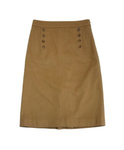 Marc by Marc Jacobs Camel Button Lace Up Skirt