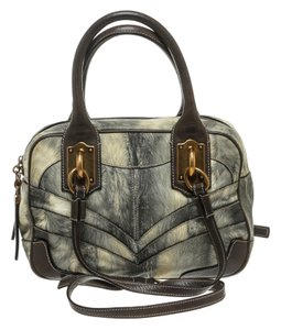 Dolce&Gabbana Satchel in Gray Multicolor