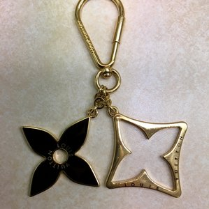 Louis Vuitton Gold Porte Cles Eclipse Key Holder/ Bag Charm.