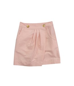 See by Chloé Pink Heart Print Skirt