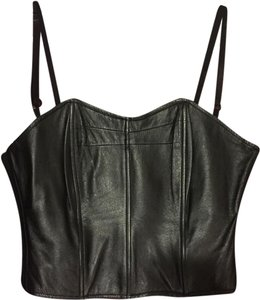 Wilsons Leather Black Halter Top