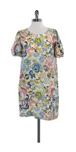 See by Chloé short dress Multi Color Floral Silk on Tradesy
