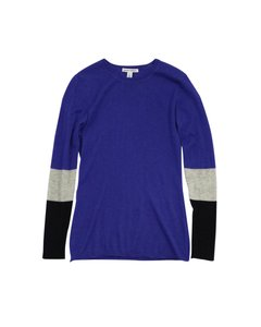 Autumn Cashmere Purple Black Sweater