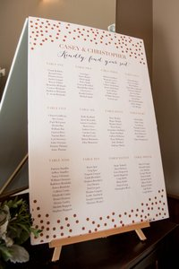 Table Top Easel For Guestbook
