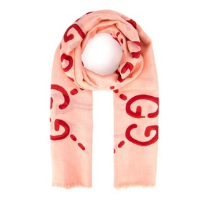 Gucci Ghost Red Pink Silk