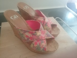 Gianni Bini Multicolor Wedges