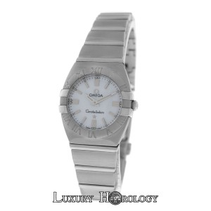 Omega Mint Ladies Omega Constellation Double Eagle 1581.70.00 MOP Steel