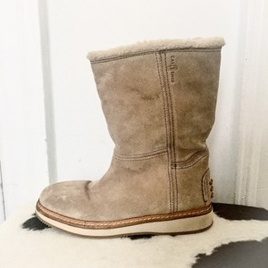 Carshoe Beige Boots