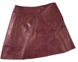 T by Alexander Wang Maroon Skirt