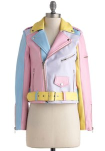 UNIF Motorcycle Pastels Motorcycle Jacket