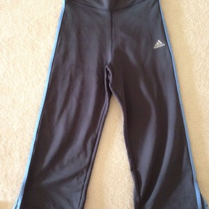 adidas Cropped Adidas Climalite Workout Pants