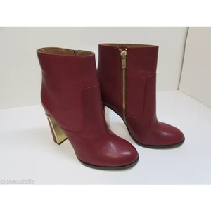 Calvin Klein Collection Red Boots