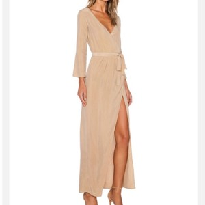 Beige Maxi Dress by Again