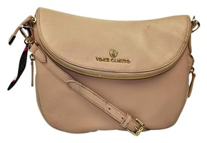 Vince Camuto Leather Gold Hardware Cross Body Bag