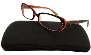 Paul Smith (SHIP TODAY) Auth Paul Smith Eye Glasses Frame with case brown Men