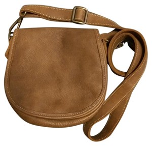 Roots Leather Over The Cross Body Bag