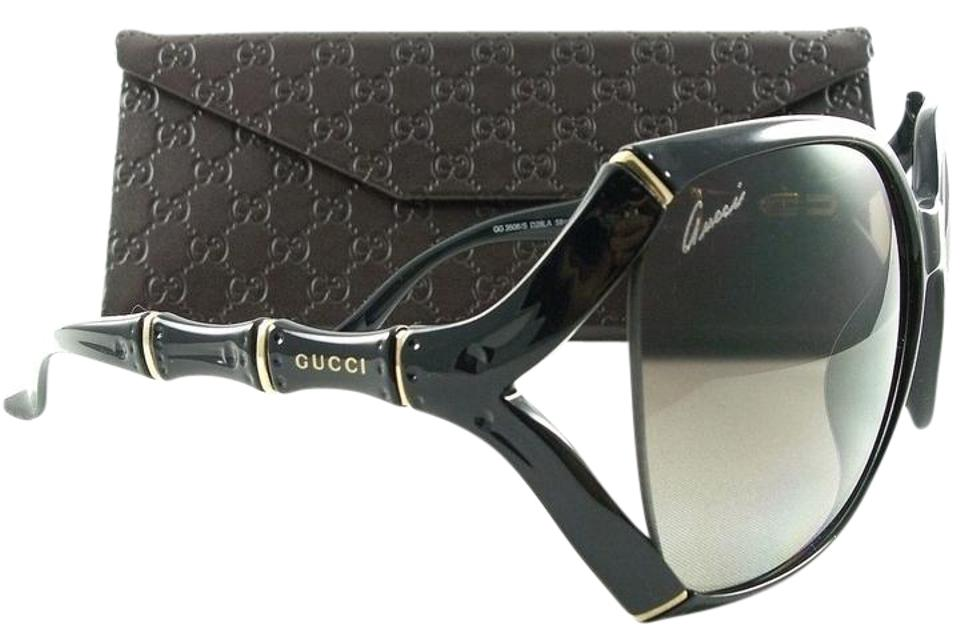 b954f7a419 Gucci New 3508 S Black D28ha Gg3508 58mm Men Sunglasses - Tradesy