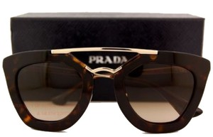 Prada Brand New Prada Sunglasses 09Q 09QS 2AU 6S1 Havana Men