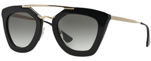 Prada Prada Sunglasses 09QS 1AB0A7 Cat Eye Cinema Black Grey Gradient Men