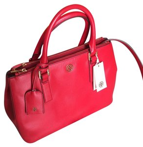 Tory Burch Satchel in Kir Royale/ 600