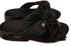 Tory Burch Black/white Sandals