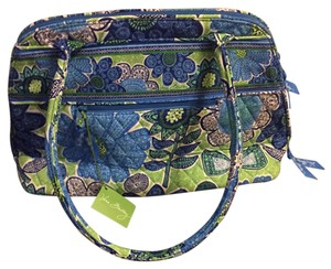 Vera Bradley Satchel in Blue/green