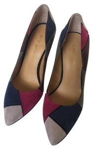 Nine West High Heel Suede Stileltto Multi Pumps