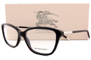 Burberry Eyeglass Frames BE 2170 3001 Black For Women Size 54 Men