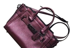 Coach Leather Modern Swagger Satchel