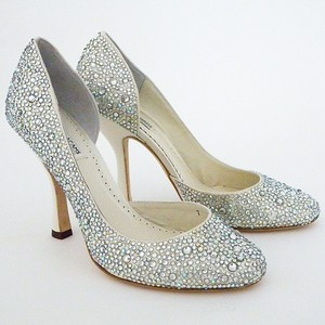 Benjamin Adams Crystal Shoes Crystal Heels Wedding Shoes Evening Shoes Bridal Sheos Wedding Shoes