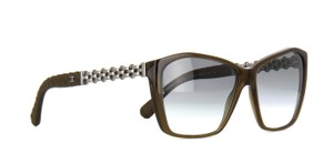 Chanel Chanel 5327Q 775/S3 Brown Opal Chain Sunglasses