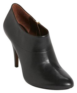 Aerin Leather Black Boots