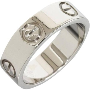 Cartier Cartier LOVE Ring White Gold Size 6.75 EU:54