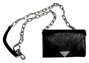Alexander Wang ALEXANDER WANG PRISMA WOC MINI PURSE WALLET BLACK CHAIN