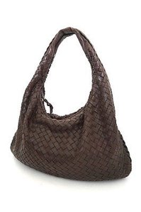 Bottega Veneta Vanetta Woven Leather Shoulder Bag