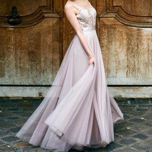 BHLDN Lucca Maxi Gown Wedding Dress